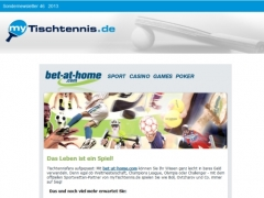 My-Tischtennis.de und bet-at-home